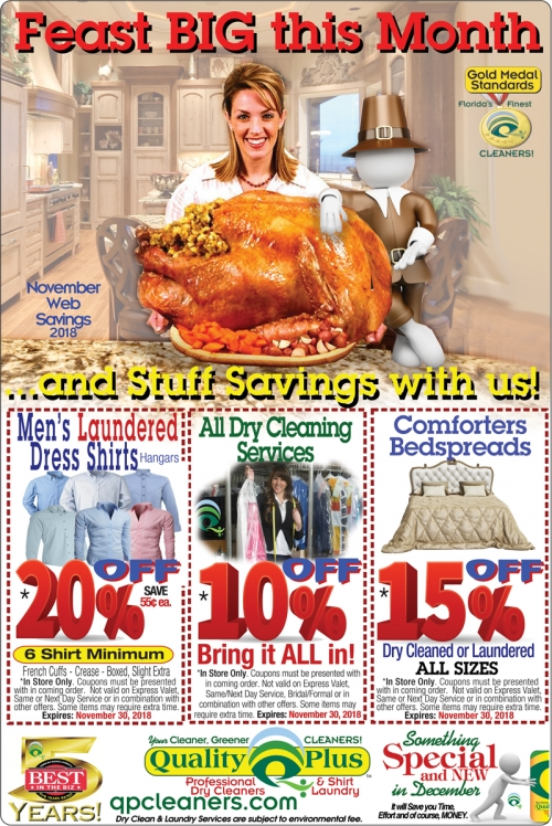 nov dry cleaner coupon