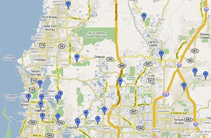 Quality Plus Cleaners Business Locations - Map alt us 19 pinellas county
